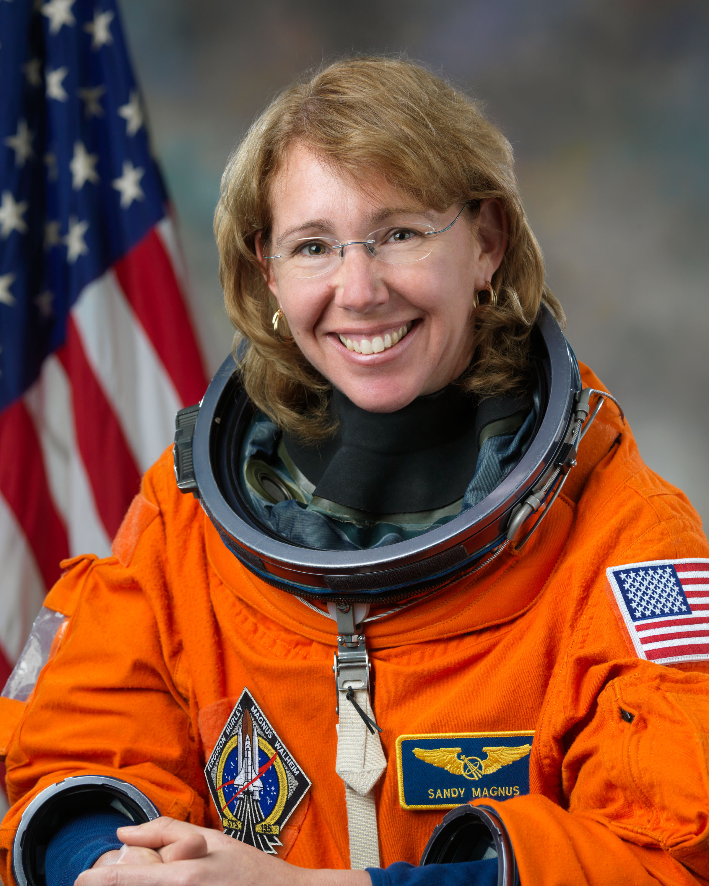 sts 135 crew global friendship through space mission specialist sandra mangus